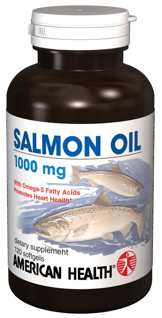 American Health Salmon Oil - 120 softgels