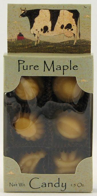 Brown Family Farm Pure Maple Candy Fancies - 3 x 6 pcs.