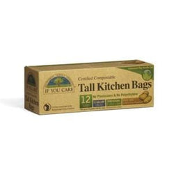 If You Care Tall Kitchen Bags, Compostable, 13 gallon - 12 ct.