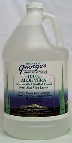 George's Aloe Vera Juice - 1 gallon