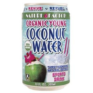 Nature Factor Coconut Water Young Organic - 12 x 10 ozs.