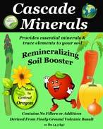 Cascade Minerals Soil Booster, Remineralizing - 10 lb.