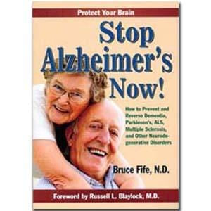 Books Stop Alzheimer's Now - 1 book