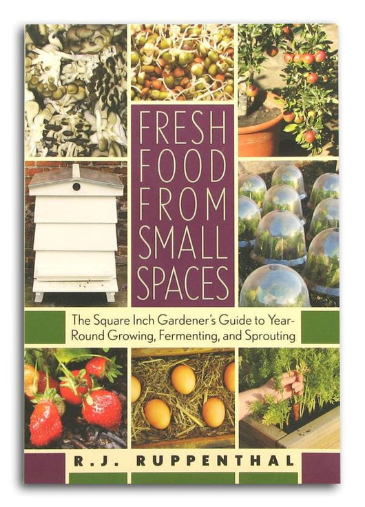 Books Fresh Food From Small Spaces - 1 book