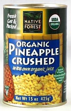 Native Forest Pineapple Crushed Organic - 14 ozs.