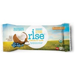Rise Bar Energy Bars, Blueberry Coconut, Organic - 3 x 1.6 ozs.