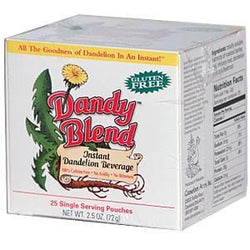 Dandy Blend Instant Herbal Coffee Substitute with Dandelion - 1 box