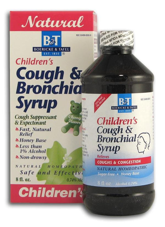 Boericke & Tafel Children's Cough & Bronchial Syrup - 8 ozs.