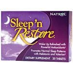 Natrol Sleep Sleep 'n Restore 20 tablets