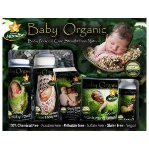 Nature's Paradise Organics Baby Care Gift Basket, Coconut, Organic - 1 set