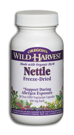 Oregon's Wild Harvest Nettles Freeze-Dried - 90 veg caps