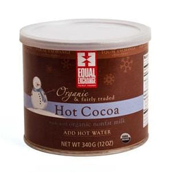 Equal Exchange Hot Cocoa, Organic - 6 x 12 ozs.