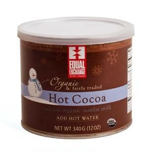 Equal Exchange Hot Cocoa, Organic - 12 ozs.