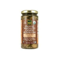 Native Forest Mushrooms, Crimini, Marinated, Old World Style, Organic - 12 x 8 oz