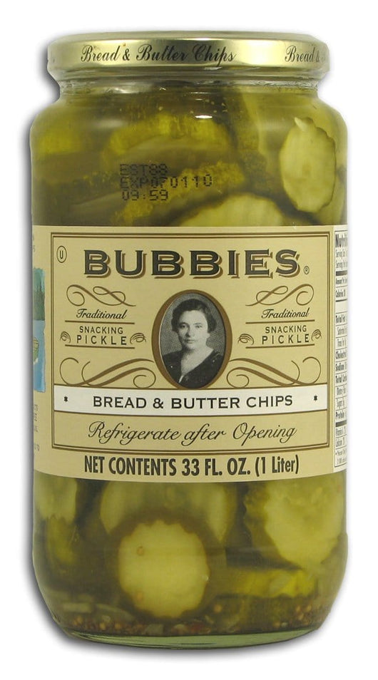 Bubbies Bread & Butter Chips - 33 ozs.