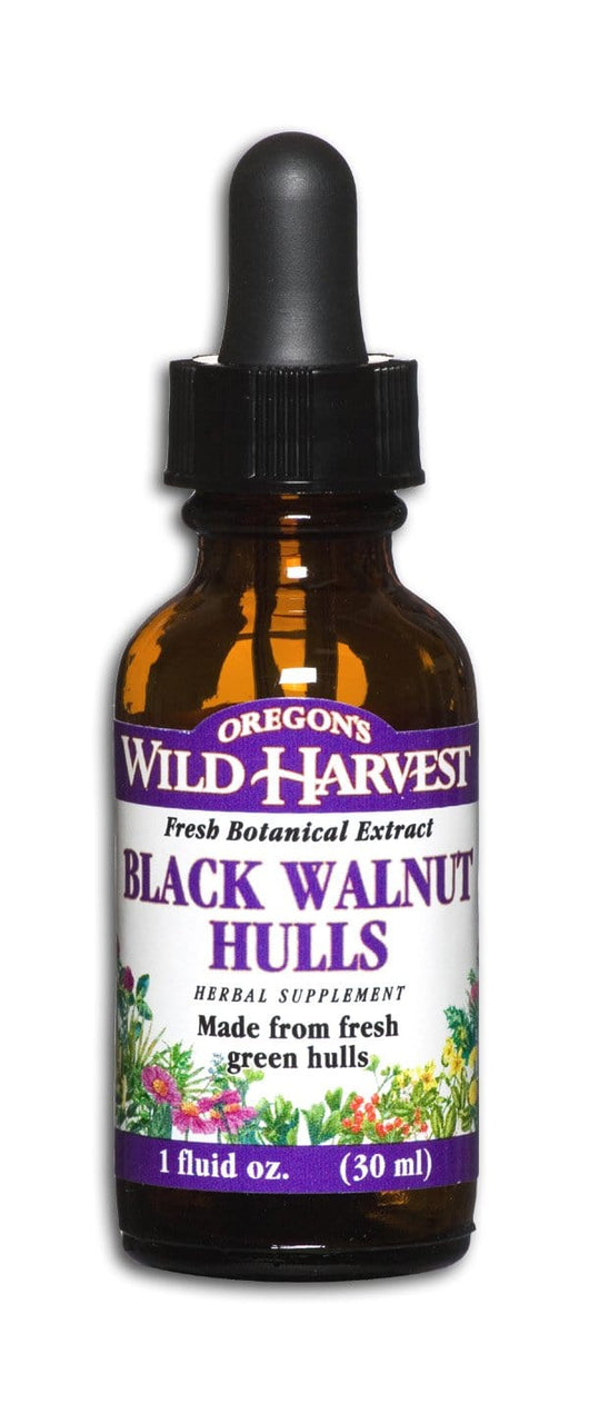 Oregon's Wild Harvest Black Walnut Hulls - 1 oz.