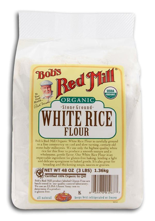 Bob's Red Mill White Rice Flour Stone Ground Organic - 48 ozs.