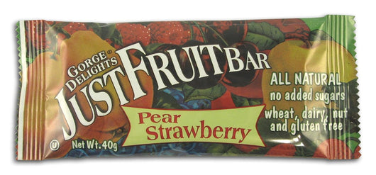 Gorge Delights Strawberry Pear Bar - 16 x 1.4 ozs.