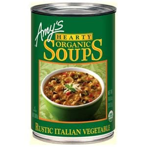 Amy's Hearty Rustic Italian Vegetable Soup, Organic - 14.4 ozs.