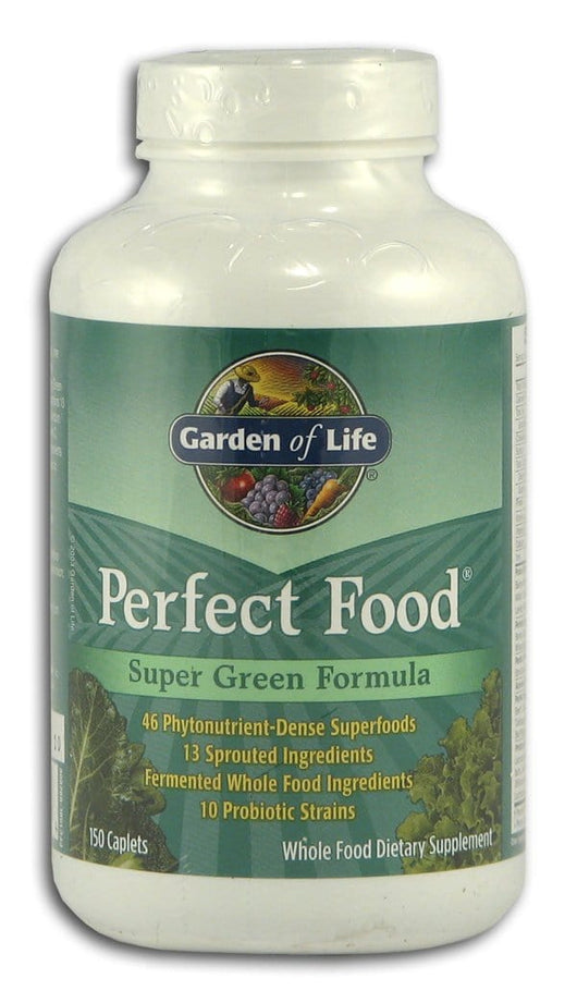 Garden of Life Perfect Food Caplets - 150 caps