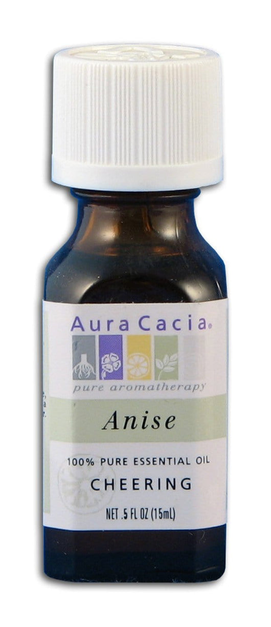 Aura Cacia Anise Oil 100% Pure - 0.5 oz.