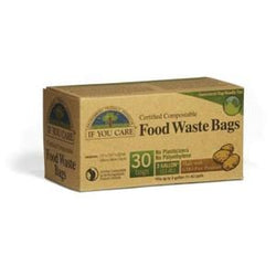 If You Care Food Waste Bags, Certified Compostable, 3 gallon - 30 ct.