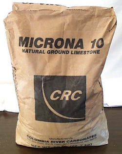 Bulk Calcium Carbonate Powder Ag - 50 lbs.