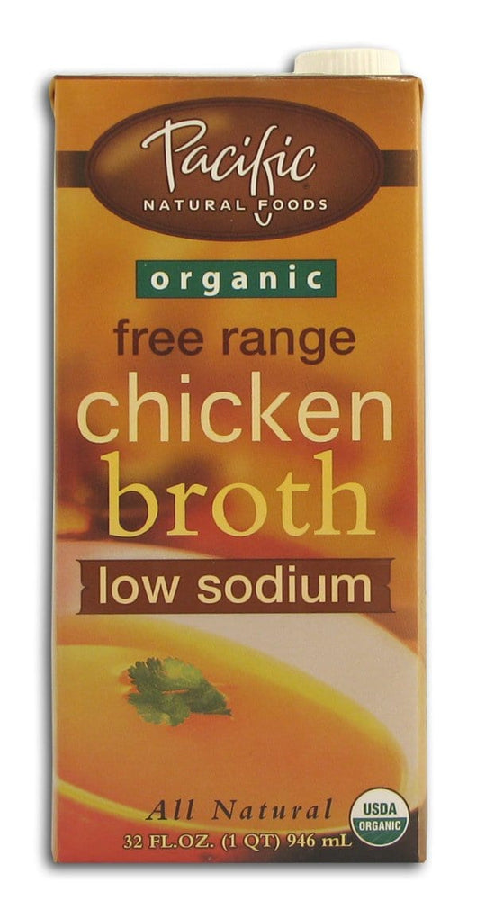 Buy Pacific Foods Chicken Broth Low Sodium Organic 32 Ozs
