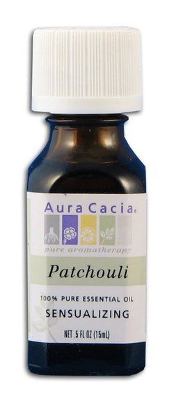 Aura Cacia Patchouli Oil - 0.5 oz.