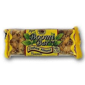Rise Bar Breakfast Bars Crunchy Cashew Almond - 3 x 1.4 ozs.