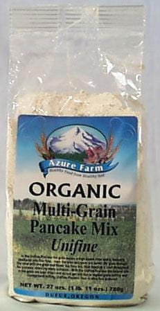 Azure Farm Multi-Grain Pancake Mix Organic - 4 x 27 ozs.