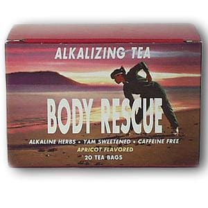 Body Rescue Alkalizing Tea - Apricot (20 bags) - 1 box