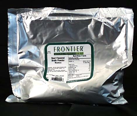 Frontier Beef Flavored Broth Powder - 1 lb.