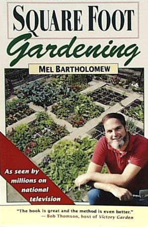 Books Square Foot Gardening - 1 book