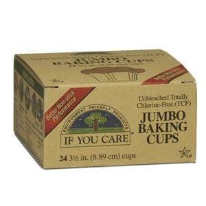 If You Care Jumbo Baking Cups  3 1/2 in. - 24 cups