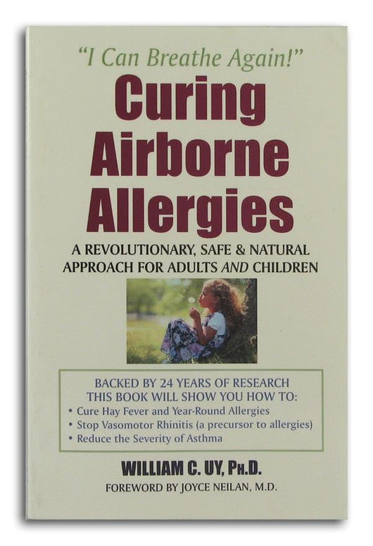 Books Curing Airborne Allergies - 1 book