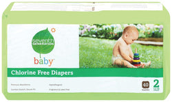 Seventh Generation Baby Diapers Stage 2 (12-18 lbs) - 36 ct.