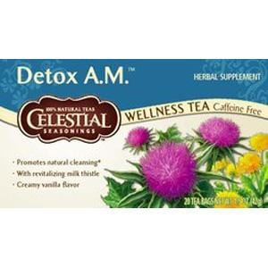 Celestial Seasonings Detox A.M. Tea - 1 box