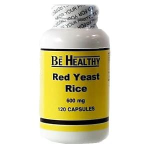 Be Healthy Red Yeast Rice - 120 caps