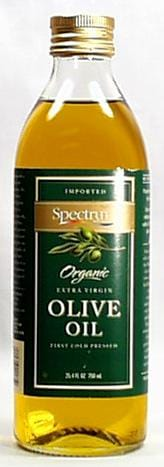 Spectrum Olive Oil Extra Virgin Organic - 6 x 25.4 ozs.