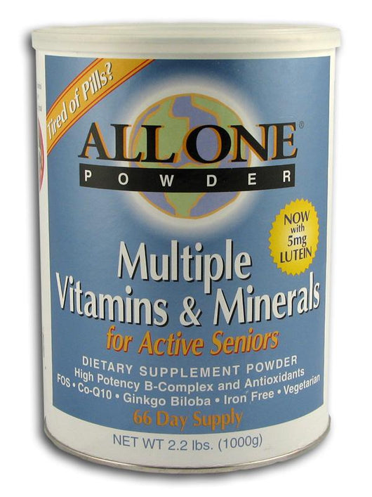 All-One Active Senior Multi-Vitamin & Mineral - 2.2 lbs.