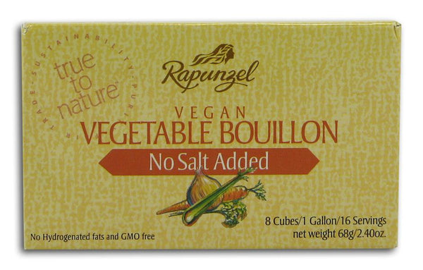 Rapunzel Vegetable Bouillon No Salt - 2.4 ozs.