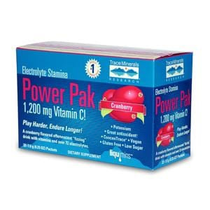 Trace Minerals Electrolyte Stamina Power Pack, Cranberry - 32 pks.