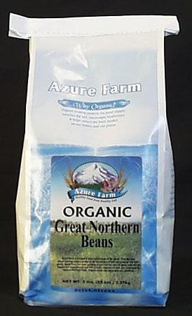 Azure Farm Great Northern Beans Organic - 5 lbs.