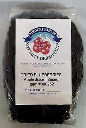 Meduri Farms Blueberries Whole Dried - 5 lbs.