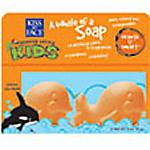 Kiss My Face Kiss Kids Orange U Smart Whale Soap Duo Pack - Body Care
