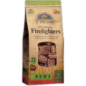 If You Care Firelighters, 100% Biomass - 72 ct.