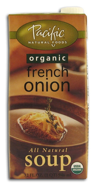 Pacific Foods French Onion Soup Organic - 32 ozs.
