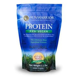 Sunwarrior Protein Powder, Natural, Raw, Vegan - 2.2 lbs.