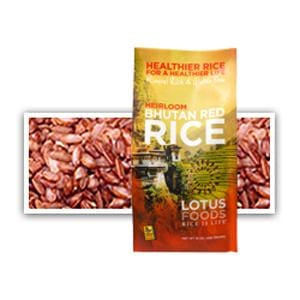 Lotus Foods Bhutan Red Rice - 15 oz